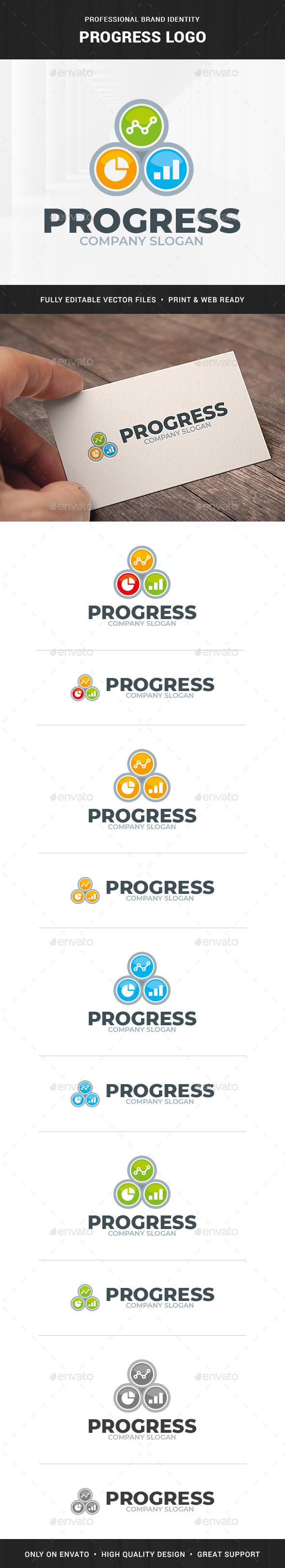 Progress Logo Template