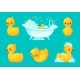 Yellow Bath Duck - GraphicRiver Item for Sale