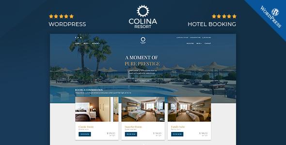 Colina : Resort and Hotel WordPress Theme