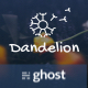 Dandelion - Modern Ghost Theme for Personal or Company Blogging - ThemeForest Item for Sale