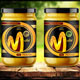 Label Template for Mustard Sauce Packaging - GraphicRiver Item for Sale