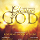 Glorious God Church Flyer - GraphicRiver Item for Sale