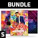 Party Flyer Bundle Vol.112 - GraphicRiver Item for Sale