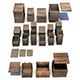 Wooden Crates and Boxes Pack - 3DOcean Item for Sale