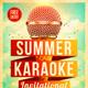 Summer Karaoke Flyer - GraphicRiver Item for Sale