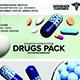 Drug Renders Pack: Capsules, Tablets & Pills - GraphicRiver Item for Sale