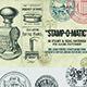 Stamp-O-Matic: Vintage Stamp & Seal Brushes - GraphicRiver Item for Sale