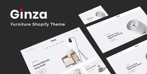 Ginza - Furniture Shopify Theme