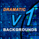 Dramatic Backgrounds v1 - GraphicRiver Item for Sale