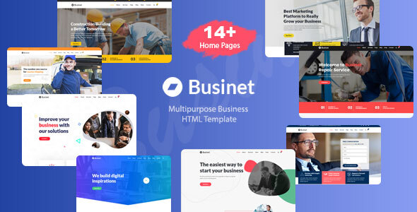 Businet - Creative MultiPurpose Business HTML Template