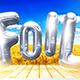 3D Foil Balloon Lettering - GraphicRiver Item for Sale
