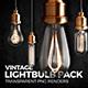 Vintage Lightbulb Renders Pack - GraphicRiver Item for Sale