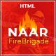 Naar - Fire Brigade Responsive HTML Template - ThemeForest Item for Sale