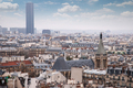 View of the Latin Quarter and Montparnasse - PhotoDune Item for Sale