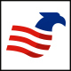 Eagle Wing Flag Logo - GraphicRiver Item for Sale