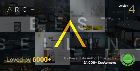 Archi - Interior Design & Architecture WordPress Theme