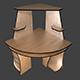 Desk_4 - 3DOcean Item for Sale