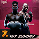 Fight Sunday MMA Flyer - GraphicRiver Item for Sale