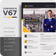 Corporate V67 Flyer - GraphicRiver Item for Sale