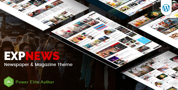 ExpNews - Newspaper and Magazine WordPress Theme