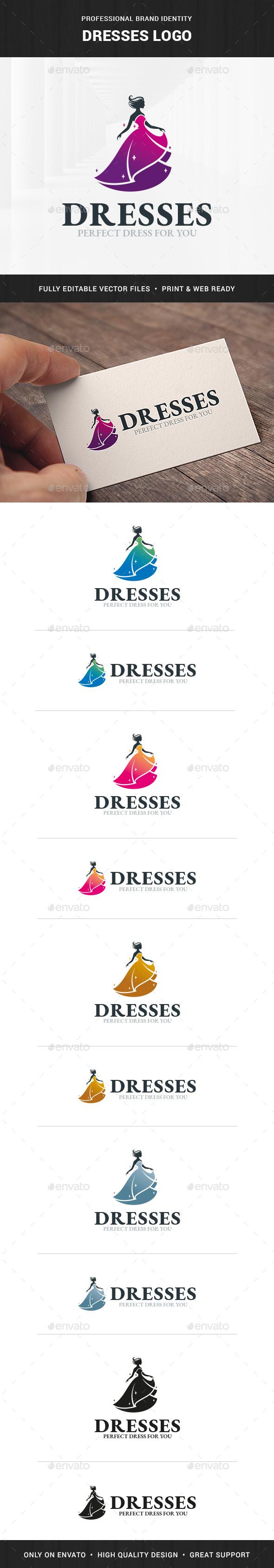 Dresses Logo Template