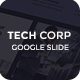 Tech Corp - Google Slides Template - GraphicRiver Item for Sale