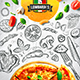 Pizza Menu Template vol.1 - GraphicRiver Item for Sale