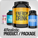 4 Realistic Product/Package Mock up Pack - GraphicRiver Item for Sale
