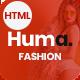 Huma Multipurpose Fashion HTML5 Template - ThemeForest Item for Sale