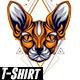 Spix Cat Geometric - GraphicRiver Item for Sale