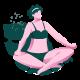 Sunny Beach Yoga Design Kit - GraphicRiver Item for Sale