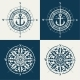Set of Compass Roses or Wind Roses - GraphicRiver Item for Sale