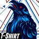 Crow Geometric - GraphicRiver Item for Sale