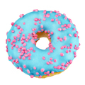 Blue donut isolated on white - PhotoDune Item for Sale