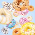Lot of multicolored donuts - PhotoDune Item for Sale