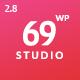 SixtyNineStudio - Creative Agency WordPress Theme - ThemeForest Item for Sale