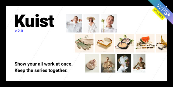 Kuist - Photography Series Portfolio WordPress Theme