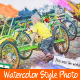 Watercolor Style Photos - VideoHive Item for Sale