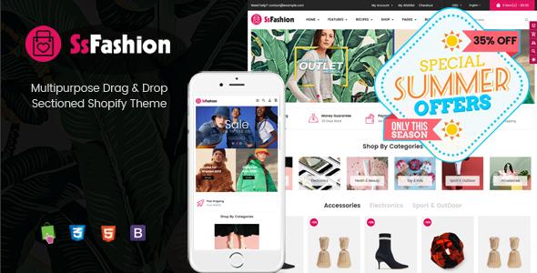 Fashion - Multipurpose Drag & Drop Fashion Shopify Theme