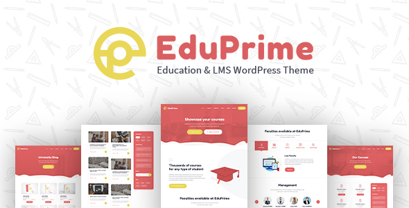 Download EduPrime – Education & LMS WordPress Theme nulled 01 Main Banner
