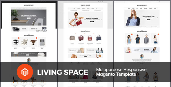 Living Space - Furniture Interior Wooden Magento 2.3 Theme