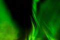 A beautiful green Aurora borealis or northern lights in Lofoten, Norway - PhotoDune Item for Sale