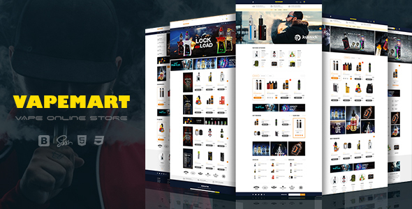VapeMart - Electronic Cigarettes & Accessories Shopify Theme