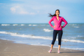 Portrait beautiful young asian woman running or exercise on the - PhotoDune Item for Sale
