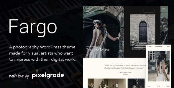 Fargo – A Charming Photography WordPress Theme