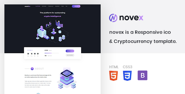 novex - ICO & Cryptocurrency Template