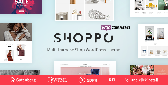 Shoppo – Multipurpose WooCommerce Shop Theme Free Download
