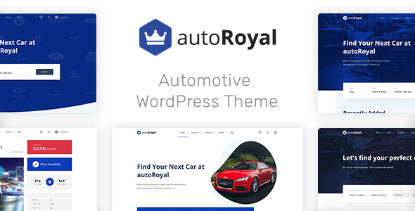 autoRoyal - Automotive WordPress Theme