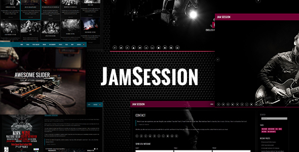 JamSession - Music WordPress Theme