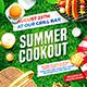 Summer Cookout Party Poster - GraphicRiver Item for Sale